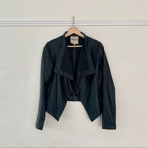 BB Dakota Vegan Leather Jacket